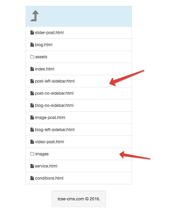 Скрипт просмотра папки php_folder_viewer